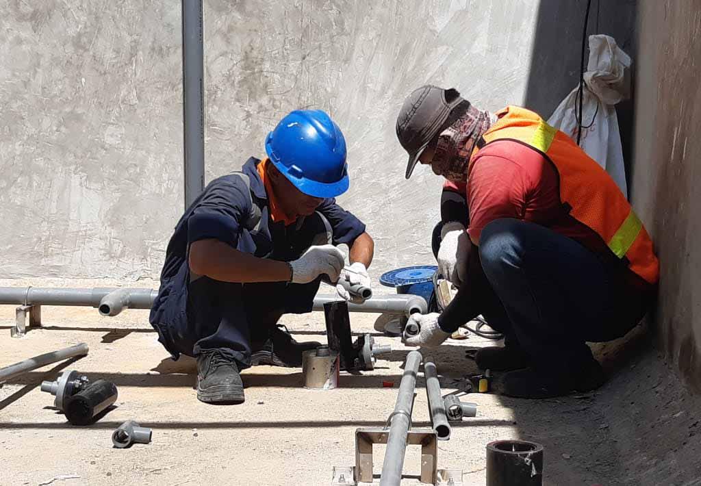 PT Multi Jaya Mesindotama Project Upgrade Diffuser Ecorator WWTP Pabrik Cikarang 1