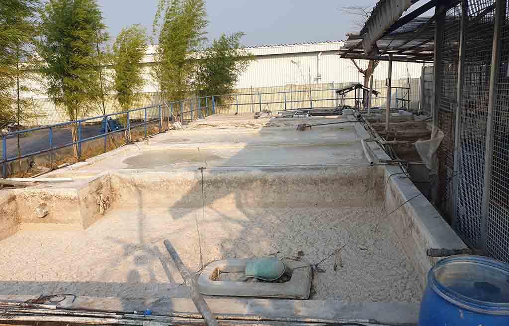 Before Project Upgrade Diffuser Ecorator WWTP Pabrik Cikarang