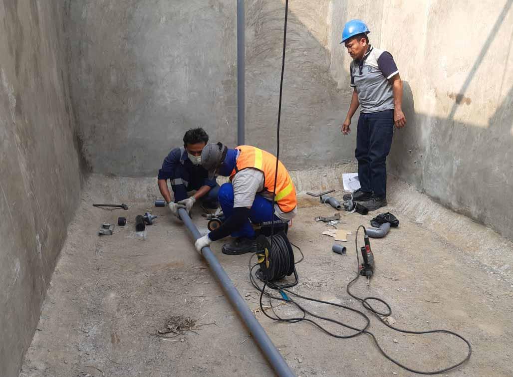 PT Multi Jaya Mesindotama Project Upgrade Diffuser Ecorator WWTP Pabrik Cikarang 4