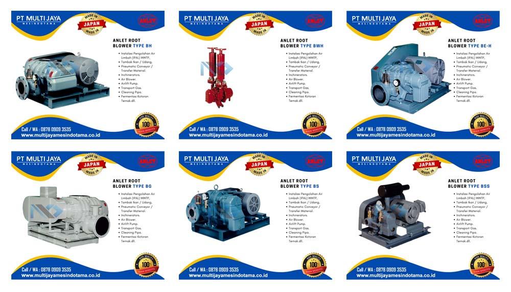 sales produk penjualan root blower anlet jepang